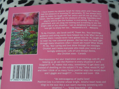 Back cover of PC's first book