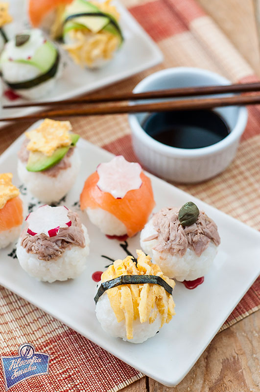 Temari sushi przepis