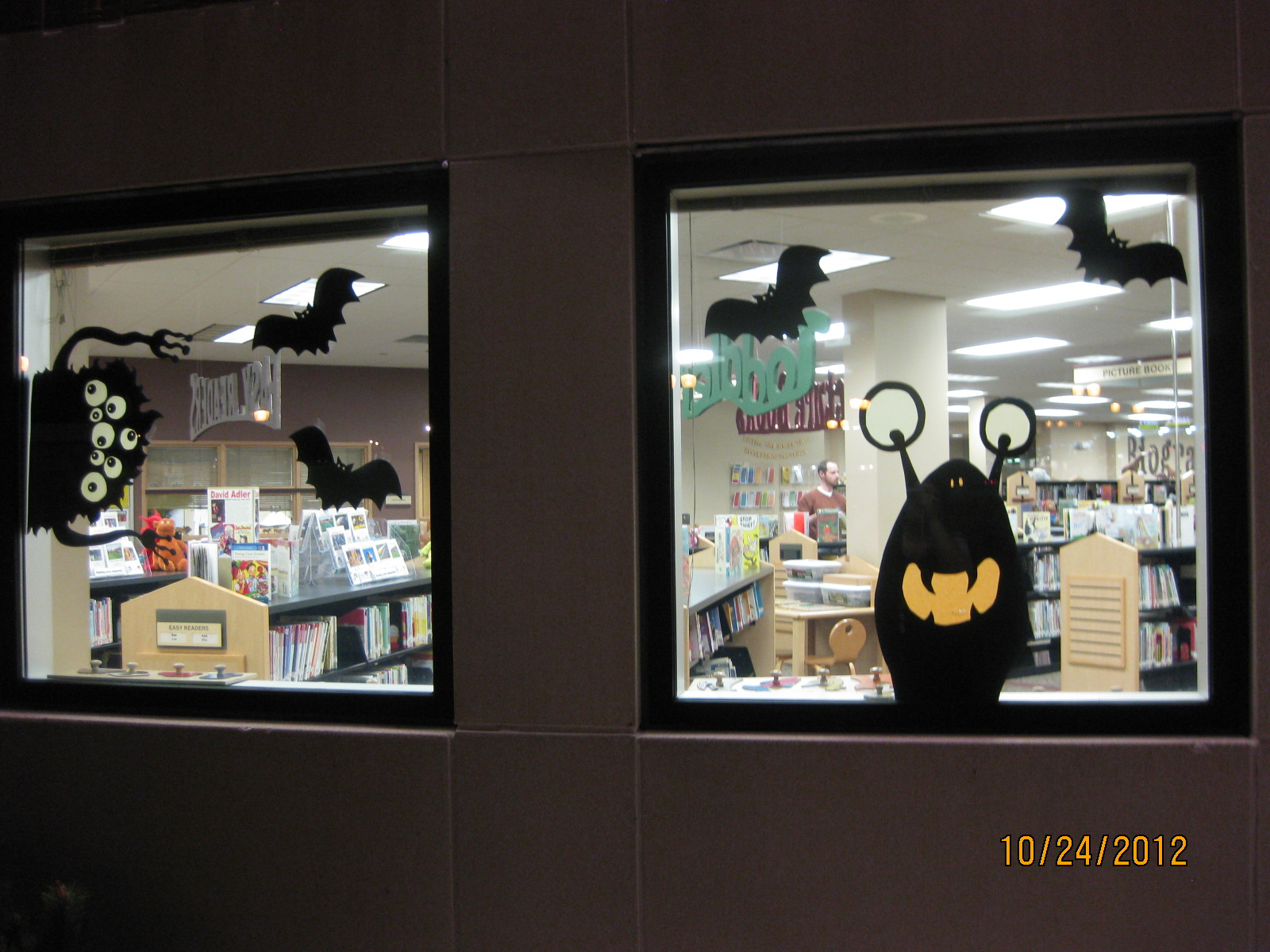 Welcome to Storytime: Halloween Window Silhouettes