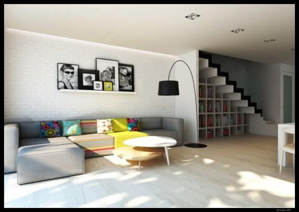 Moderno e inspirador dise o de interiores por grzegorgz for Diseno de interiores modernos