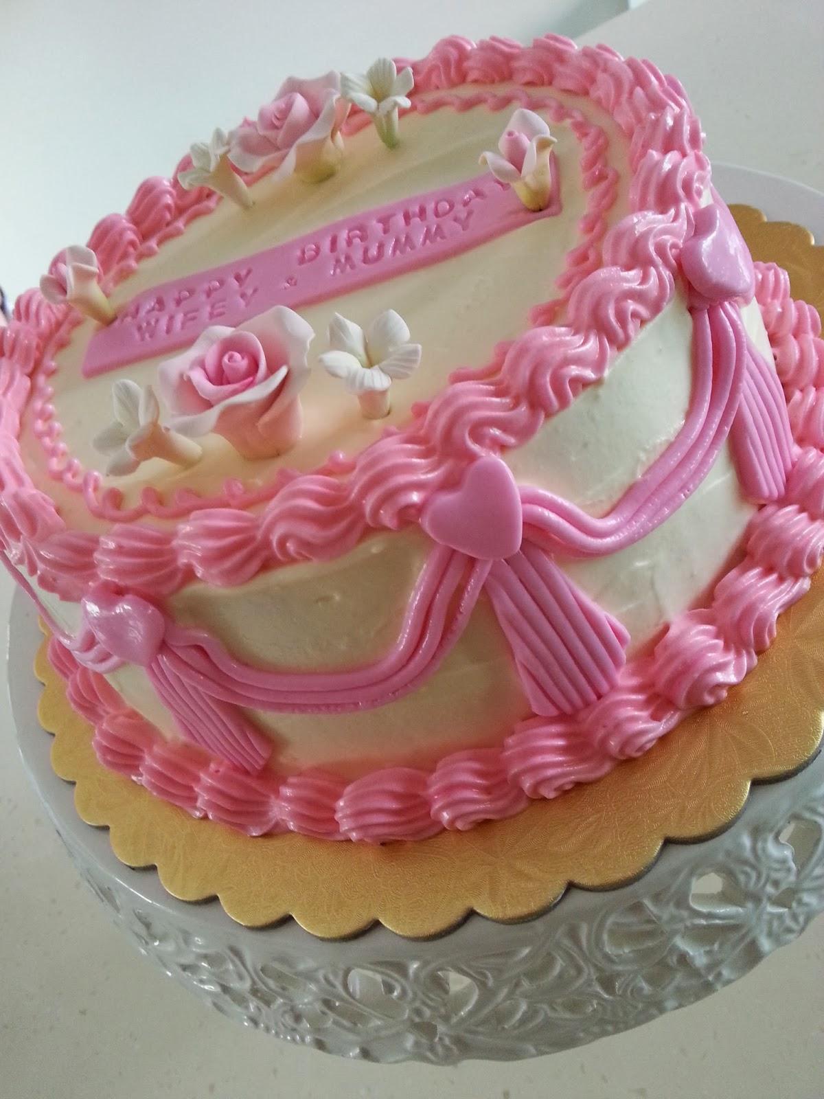 Birthday Cake Images With Name Pinky : Zeti Hot Oven: 365 Hot Oven - Pinky Birthday Cake