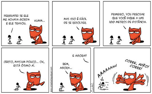 Tirinhas da Luna #69: 'Tô gorda? - 2'   Ordem da Fênix Brasileira