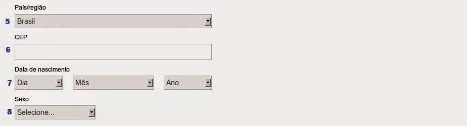 como criar um email no hotmail/outlook passo 3