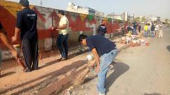 इंडिया राइजिंग का आगरा की  सफाई में योगदान जारी
