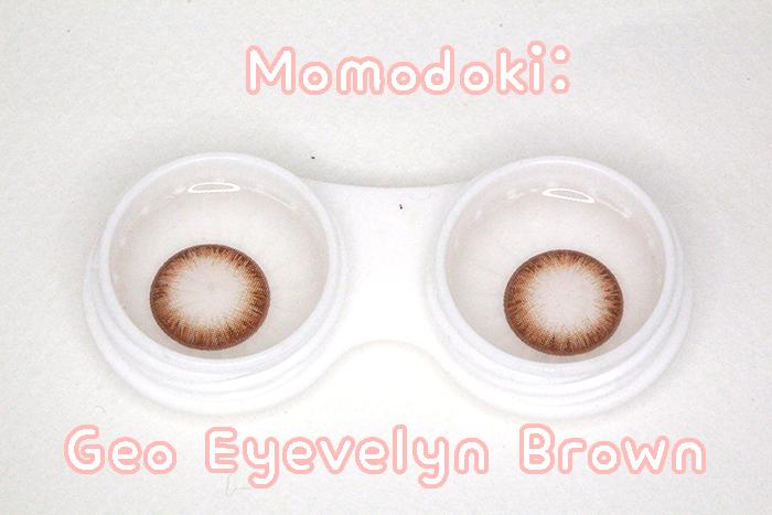 REVIEW: GEO Eyevelyn Brown | c/o geocolouredlenses ...