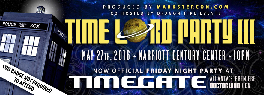 Atlanta Time Lord Party