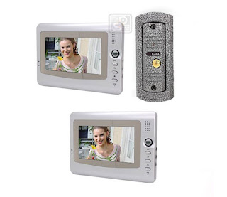 SY-4288+D9PH 1/2 - комплект видео домофона (2 видео монитора)