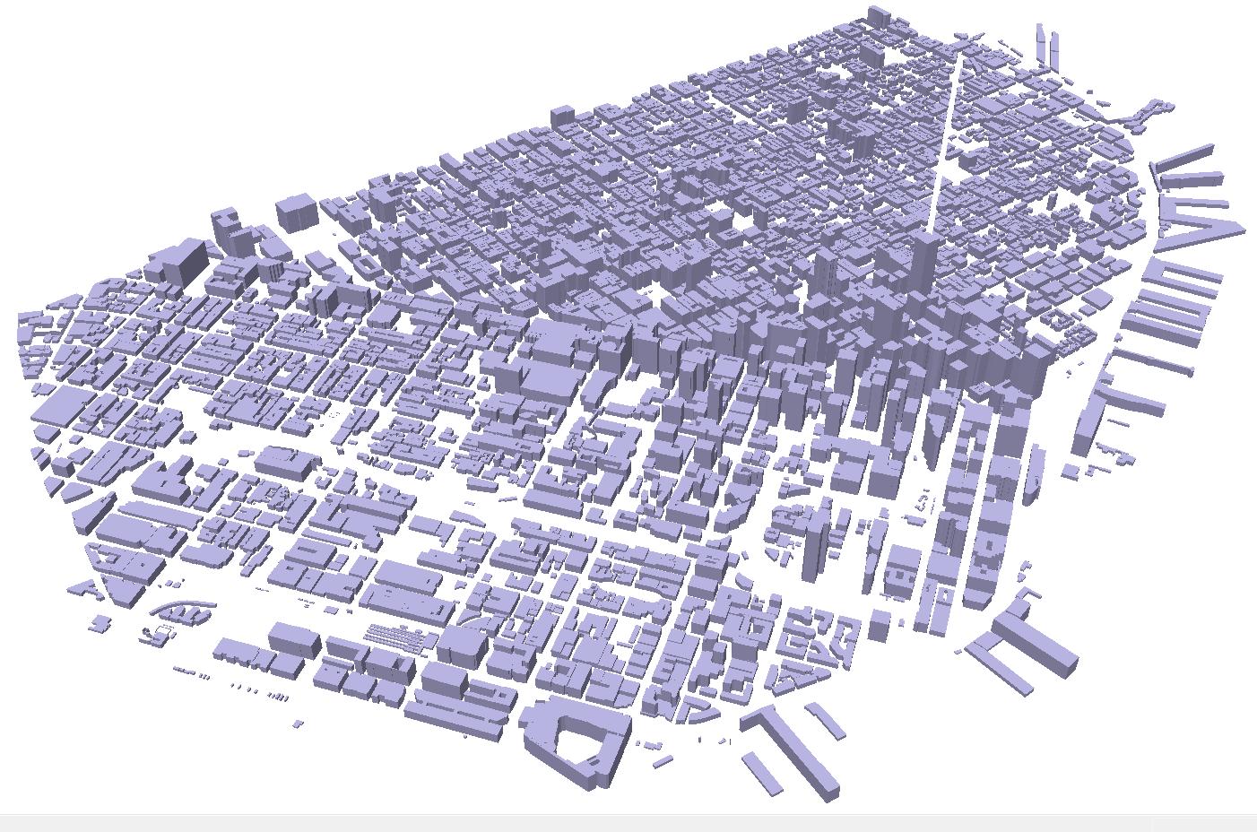 Building Footprint New York City Shapefile Gis