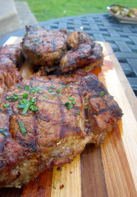 spice rubbed steak