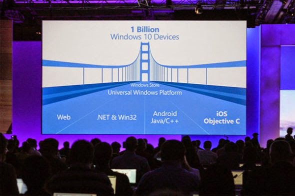 Windows 10: Θα υποστηρίζει εφαρμογές Android και iOS (περίπου…)