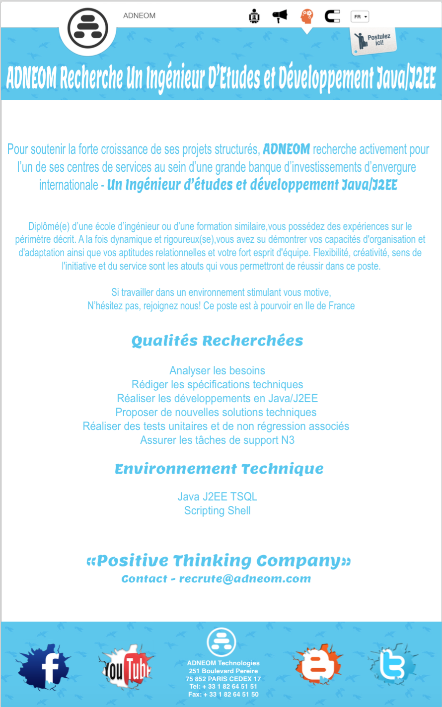 adneom is recruting