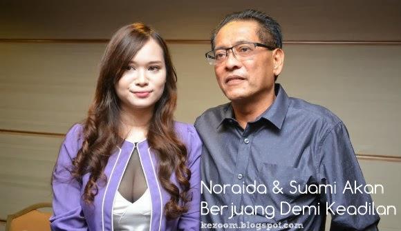 Noraida & Suami Mahu Adi Putra Mohon Maaf