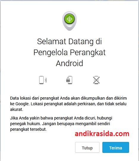 Cara Melacak dan Mengunci Ponsel Android yang Hilang dengan Android Device Manager