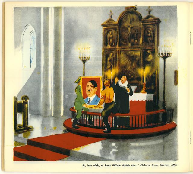 Den onde Fyrste: 'Ja, han vilde, at hans Billede skulde staa i Kirkerne foran Herrens Alter'