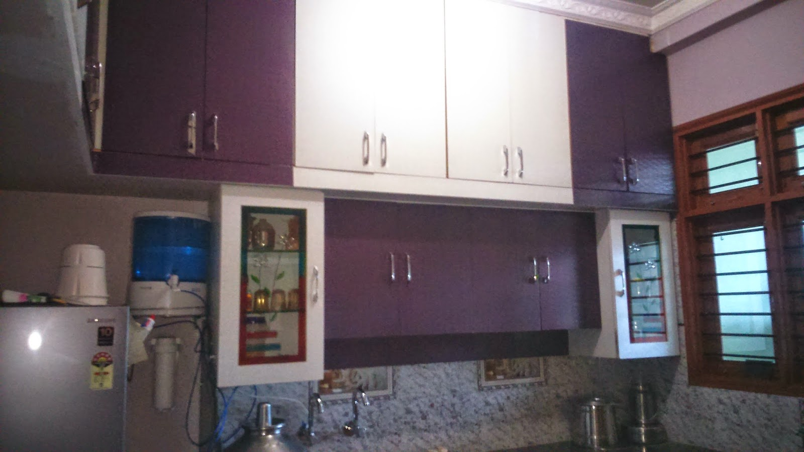 kitchen design purple and white. the new kitchen design combination of white and din grey purple and white