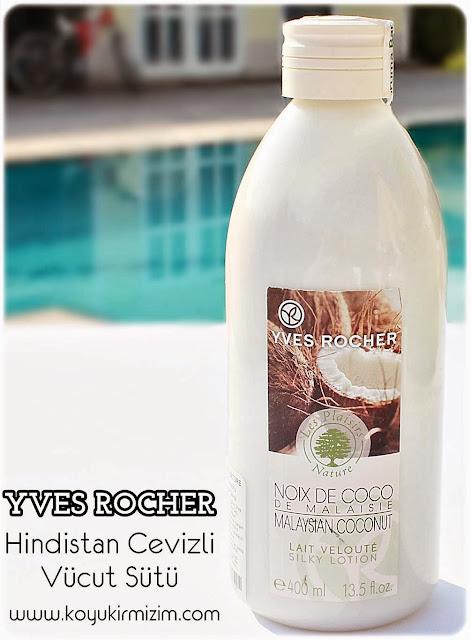 Yves Rocher Hindistan Cevizli Vücut Sütü