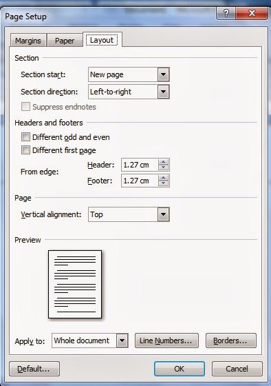 cara mengganti ukuran kertas f4 di microsoft word 2010
