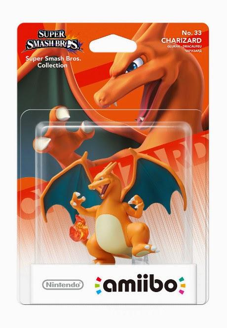 JUGUETES - NINTENDO Amiibo - 33 : Figura Charizard : Pokemon   (24 Abril 2015) | Videojuegos | Muñeco | Super Smash Bros Collection  Plataforma : Wii U & Nintendo 3DS