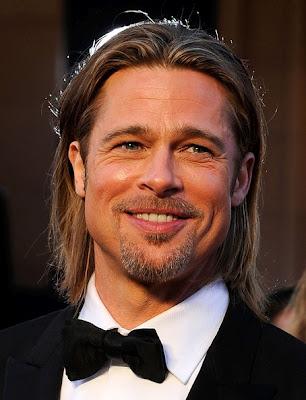 Brad Pitt Oscar Awards 2012 брэд питт оскар