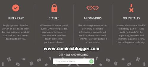 Realiza videollamadas anónimas y gratuitas con Gruveo