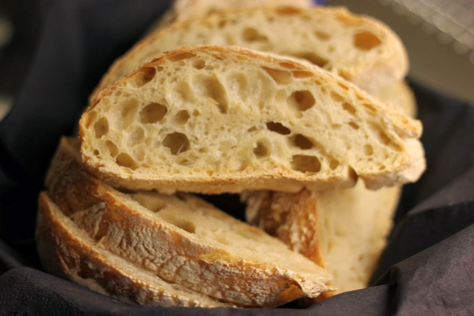 kalljäst bröd i gryta