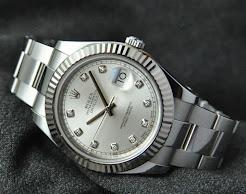 Unworn Rolex DateJust 2 Diamond Dial. 5years warranty