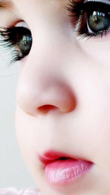 Baby mobile wallpaper baby has beautiful eyes voltagebd Gallery