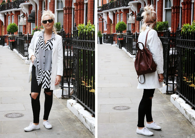 Monochome outfit