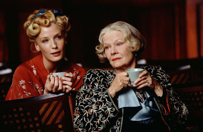 Judi Dench ponders with Kelly Reilly in MRS. HENDERSON PRESENTS