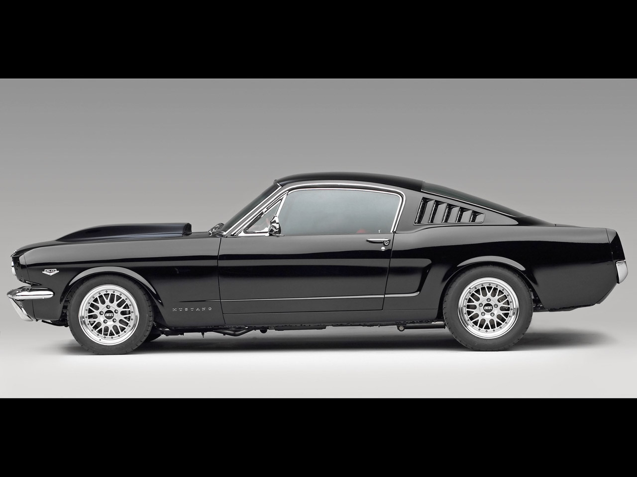 1966 Ford Mustang Fastback Black