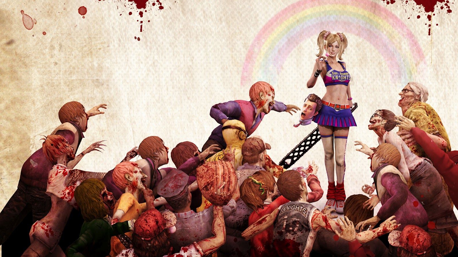 lollipop chainsaw zombie game HD Lollipop Chainsaw Wallpapers in HD   1080p