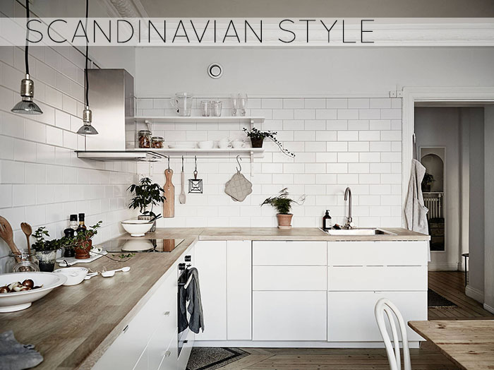 Scandinavian style less is more home shabby home for Nordic style arredamento