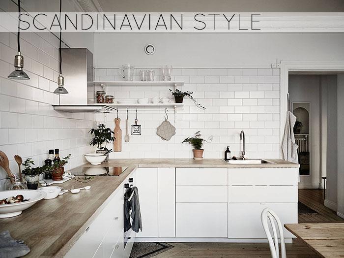 Scandinavian style less is more home shabby home arredamento interior craft - Cucine stile scandinavo ...