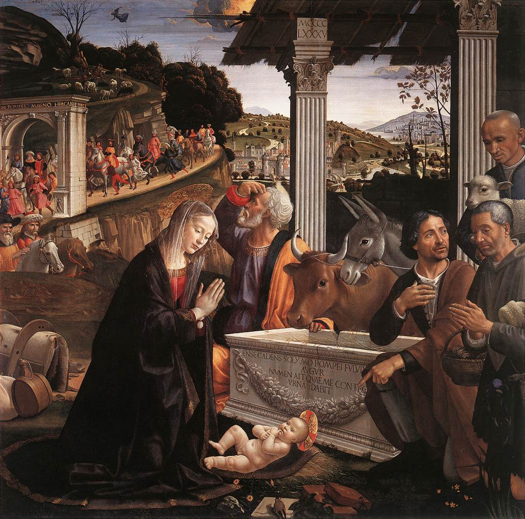 Art 236: Formal Analysis: The Nativity and Adoration of the Shepherds