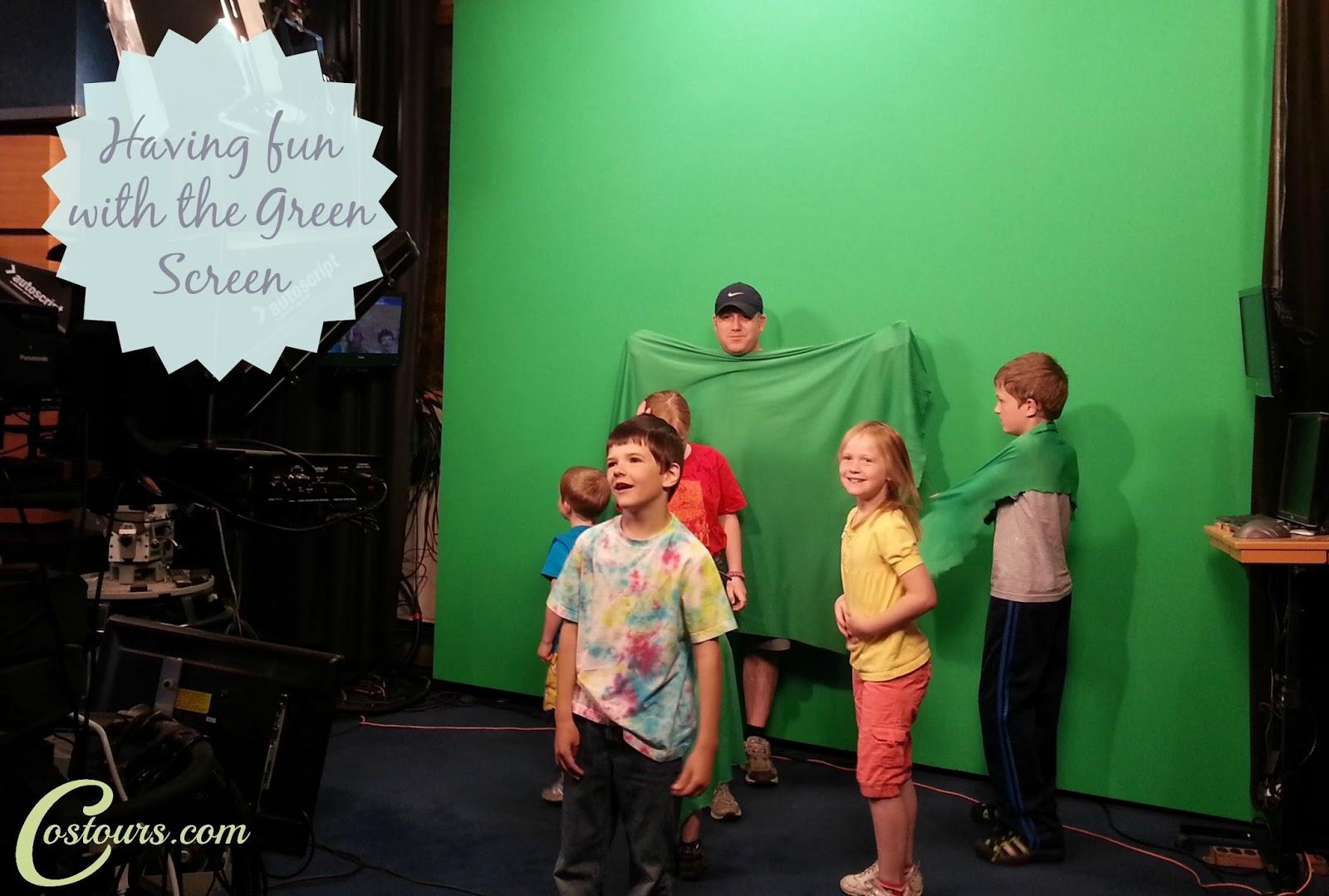Green Screen Fun at KRDO 13