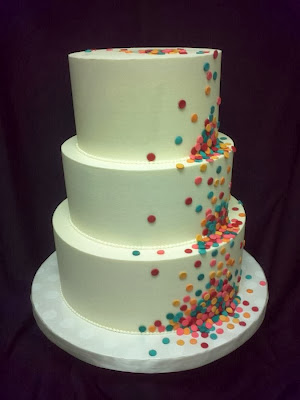Doeblerghini Bunch: Sprinkle Wedding Cake