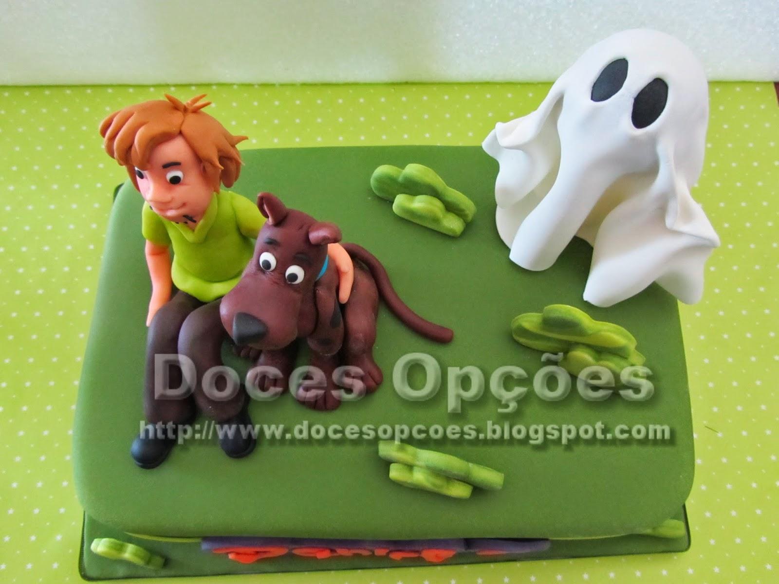 bolo Scooby-Doo bragança