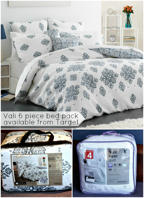 Inspirational Target us bed packs include a quilt cover two standard pillow cases two European pillow cases and a coordinating decorative cushion A king size quilt