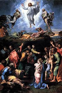 La transfiguracion de Jesus, pintura de Rafael | Ximinia