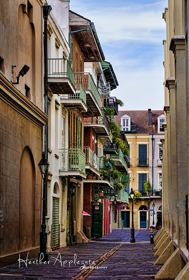 Pirate Alley New Orleans by Heather Applegate