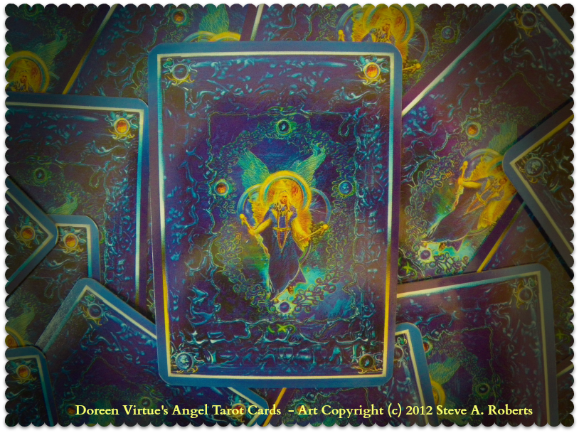doreen virtue's angel tarot cards