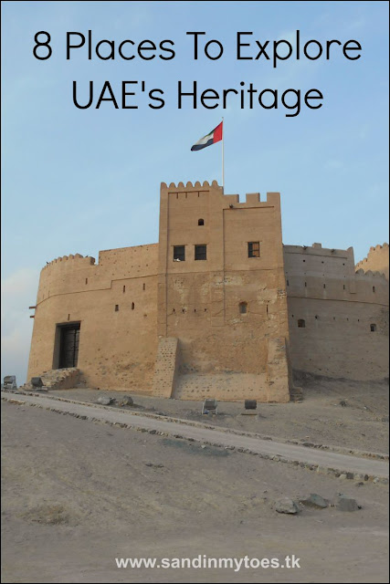 Eight places you can visit in the United Arab Emirates (UAE) with the whole family to learn more about it's heritage and traditions.