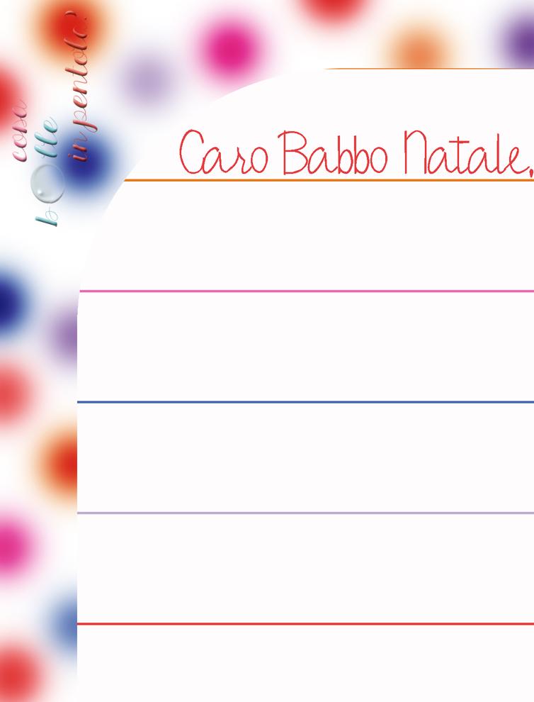 Cosa bolle in pentola letterina per babbo natale 2014 - Babbo natale stampabile ...