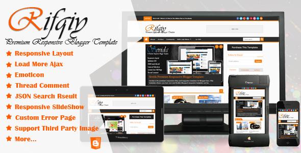 Rifqiy Premium Responsive Blogger Template