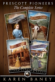 Prescott Pioneers - The Complete Series (Book 1-4)