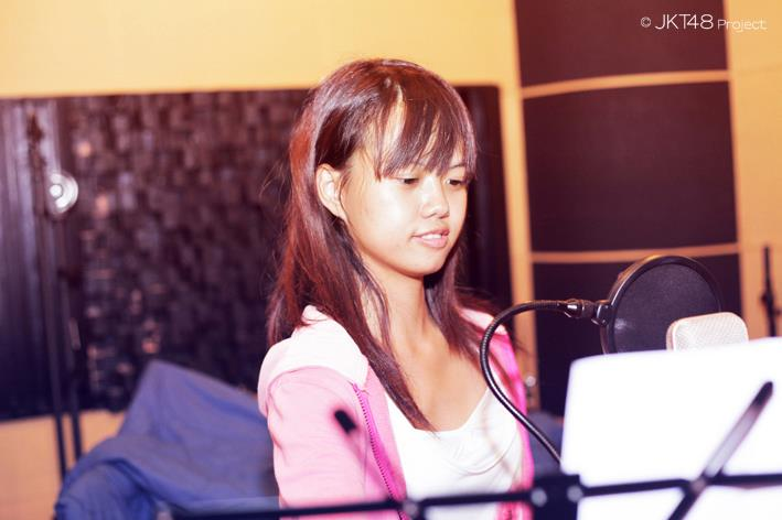 Recording sesion , diasta JKT48