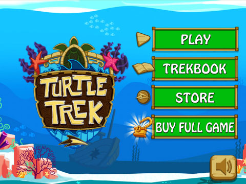 SeaWorld Presents Turtle Trek Free App Game By Sleep Giant