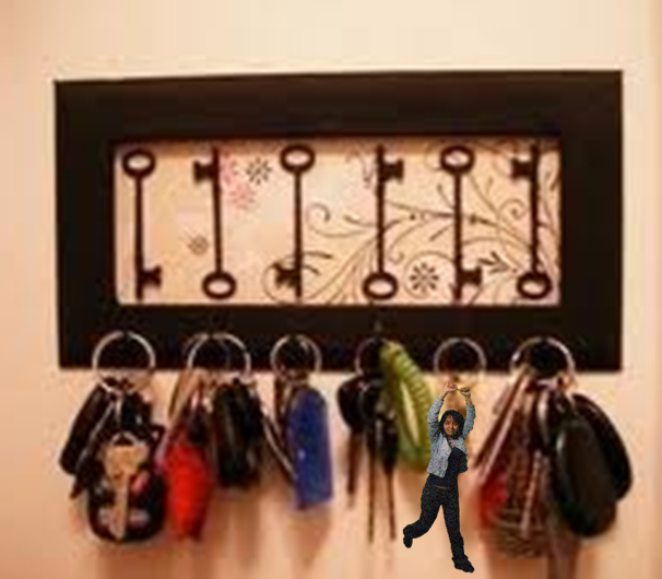 Decorando con llaves antiguas y candados parte 1 for Decoracion con figuras en la pared