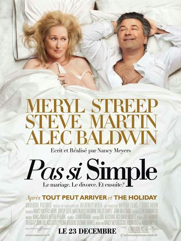 Affiche de Pas si simple, avec Meryl Streep et Amec Baldwin