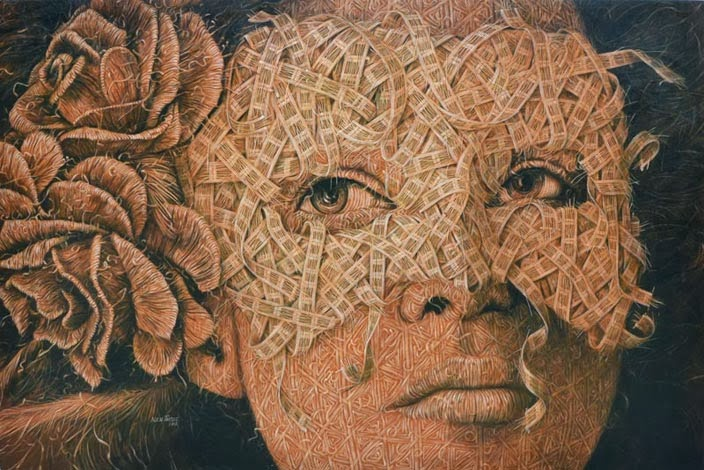 19-Masked-6-Alexi-Torres-Woven-Oil-Paintings-www-designstack-co